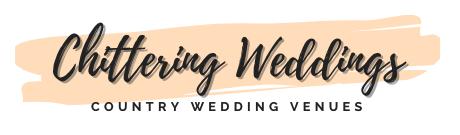 Chittering Weddings Logo White Background